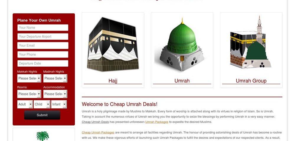 Cheap Umrah Deals